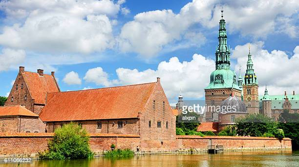 frederiksborg castle - hillerod stock pictures, royalty-free photos & images