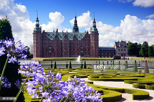 frederiksborg garden - hillerod stock pictures, royalty-free photos & images