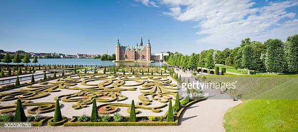frederiksborg palace - hillerod stock pictures, royalty-free photos & images