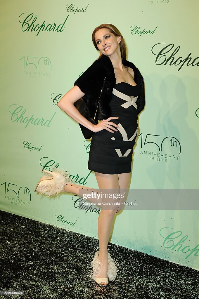 Frederique Bel at the 'Chopard 150th Anniversary Party' during the 63rd Cannes International Film Festival.