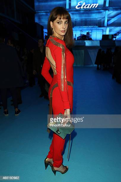 Frederique Bel attend The ETAM show as part of the Paris Fashion Week Womenswear Fall/Winter 2015/2016 at Piscine Molitor on March 3 2015 in Paris...
