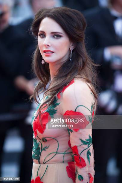 Frederique Bel attends a screening of 'Julieta' at the annual 69th Cannes Film Festival at Palais des Festivals on May 17 2016 in Cannes France