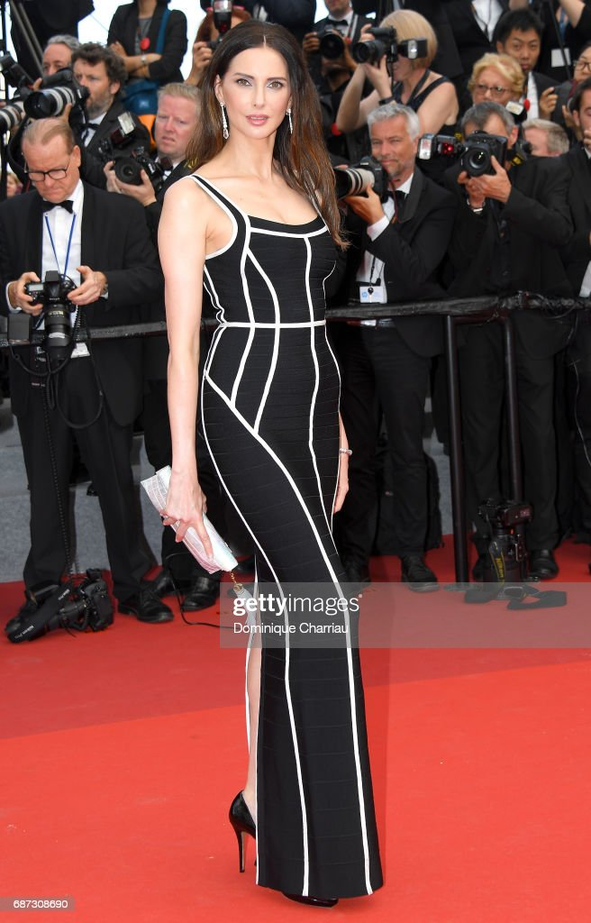 Frederique Bel attends the 70th Anniversary screening during the 70th annual Cannes Film Festival at Palais des Festivals on May 23, 2017 in Cannes, France.