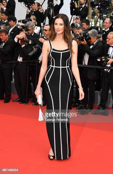 Frederique Bel attends the 70th Anniversary screening during the 70th annual Cannes Film Festival at Palais des Festivals on May 23 2017 in Cannes...