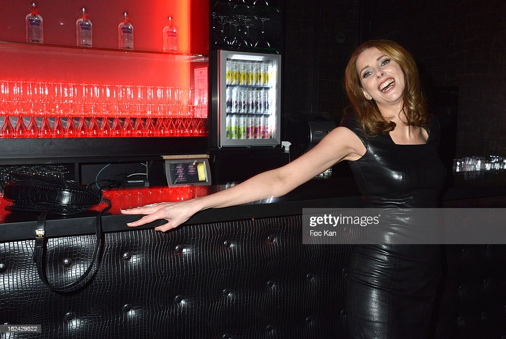 Frederique Bel attends the Cesar Film Awards 2013 after party at the Club 79 on February 22, 2013 in Paris, France.