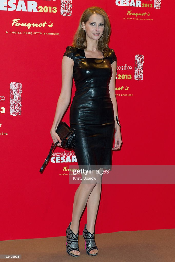 Frederique Bel attends the Cesar Film Awards 2013 at Le Fouquet's on February 22, 2013 in Paris, France.