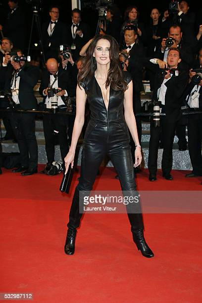 Frederique Bel attends the 'It's Only The End Of The World ' Premiere during the 69th annual Cannes Film Festival at the Palais des Festivals on May...