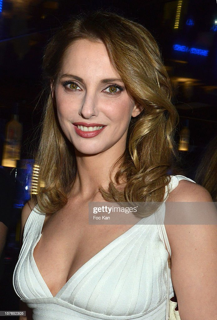 Frederique Bel attends the Jeweler Edouard Nahum 'Maya' New Collection Launch Party at La Gioia on December 4, 2012 in Paris, France.