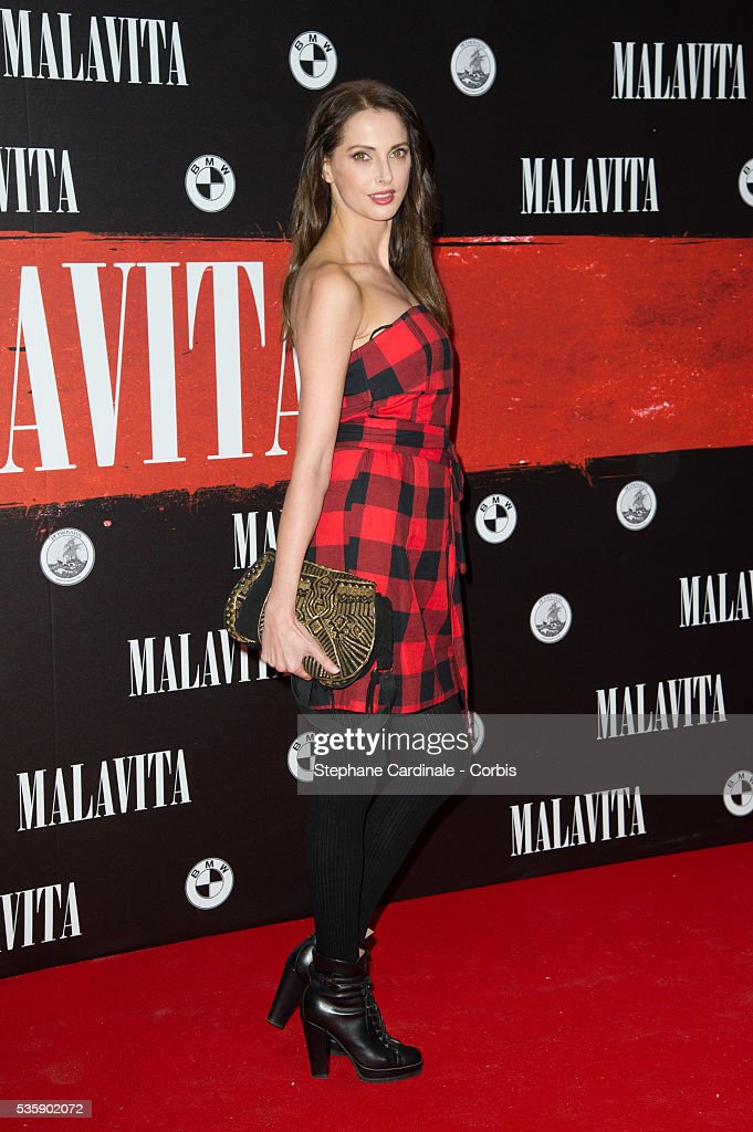 Frederique Bel attends the 'Malavita' premiere at Europacorp Cinemas at Aeroville Shopping Center, in Roissy-en-France, France.