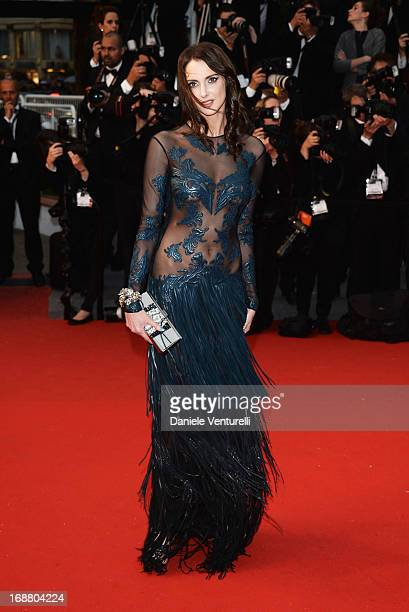 Frederique Bel attends the Opening Ceremony and premiere of 'The Great Gatsby' during the 66th Annual Cannes Film Festival at Palais des Festivals on...