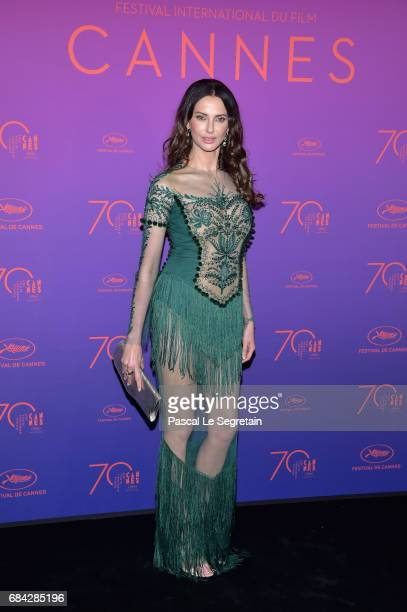 Frederique Bel attends the Opening Gala Dinner during the 70th annual Cannes Film Festival at Palais des Festivals on May 17 2017 in Cannes France