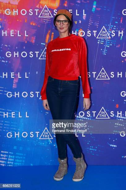 Frederique Bel attends the Paris Premiere of the Paramount Pictures release 'Ghost in the Shell' Held at Le Grand Rex on March 21 2017 in Paris France