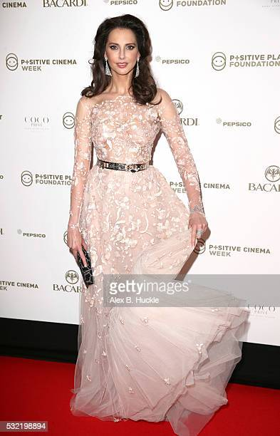 Frederique Bel attends the Planet Finance Foundation Gala Dinner during the 69th annual Cannes Film Festival at Hotel Martinez on May 18 2016 in...