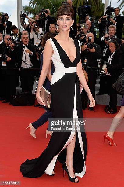 Frederique Bel attends the Premiere of 'Irrational Man' during the 68th annual Cannes Film Festival on May 15 2015 in Cannes France