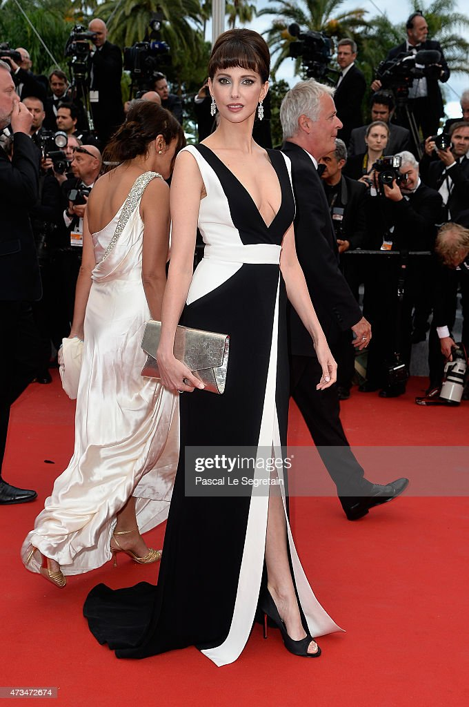 Frederique Bel attends the Premiere of 'Irrational Man' during the 68th annual Cannes Film Festival on May 15, 2015 in Cannes, France.