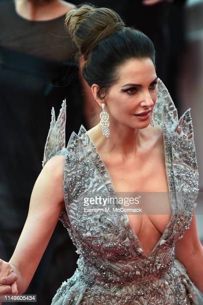 Frederique Bel attends the screening of Rocketman during the 72nd annual Cannes Film Festival on May 16 2019 in Cannes France
