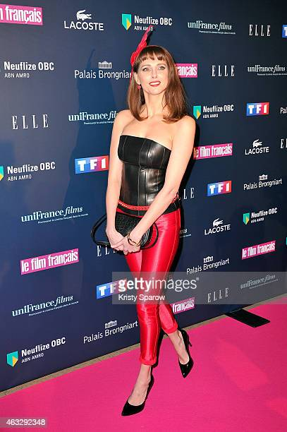 Frederique Bel attends the 'Trophees Du Film Francais' 22nd annual ceremony at Palais Brongniart on February 12 2015 in Paris France