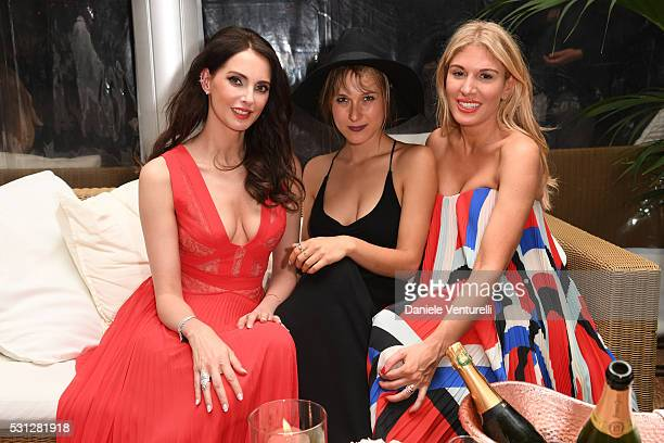 Frederique Bel Lena Gora and Hofit Golan attend The Hollywood Foreign Press Association Honour Filmaid International party during The 69th Annual...