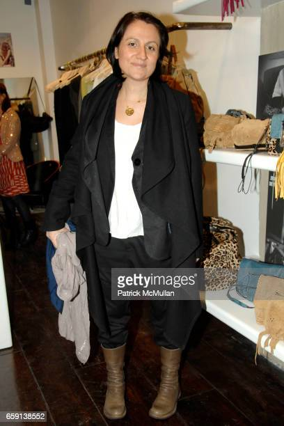 Frederique Dessemond attends JEROME DREYFUSS Fall/Winter 2009 Collection at LUDIVINE Uptown at Boutique Ludivine on February 19 2009 in New York City