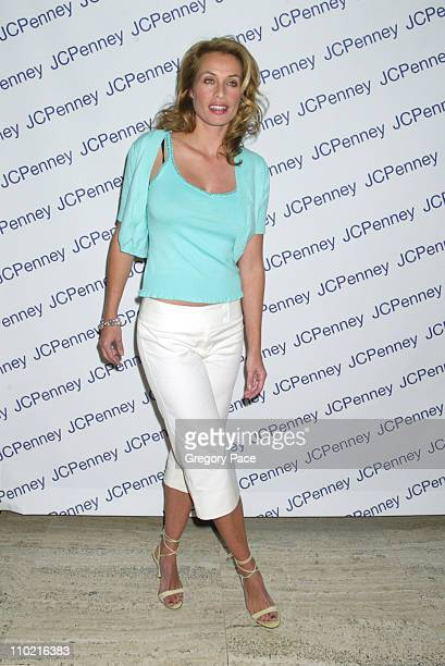 Frederique van der Wahl during Nicole by Nicole Miller Fashion Show Presented by JCPenney Arrivals Backstage and Runway at The Four Seasons...