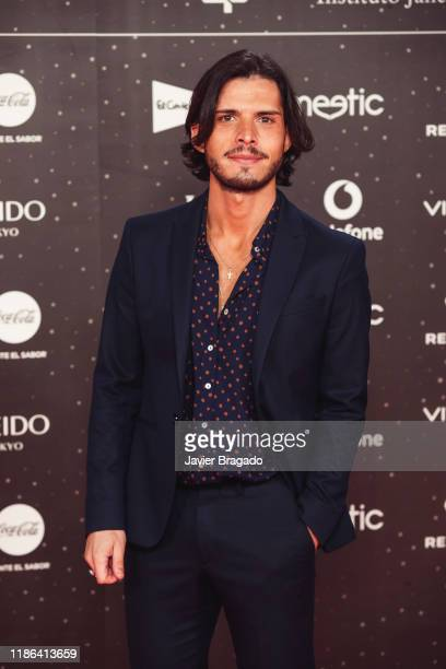 Fredi Leis attends 'Los40 music awards 2019' photocall at Wizink Center on November 08 2019 in Madrid Spain