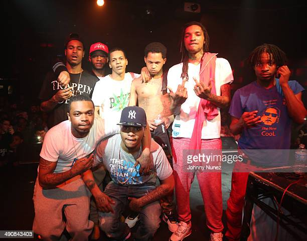 Fredo Santana and guests attend Highline Ballroom on May 14 2014 in New York City