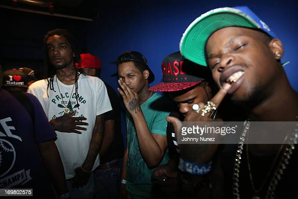 Fredo Santana and Vinny Chase attend Chief Keef In Concert at the Best Buy Theater on June 1 2013 in New York City