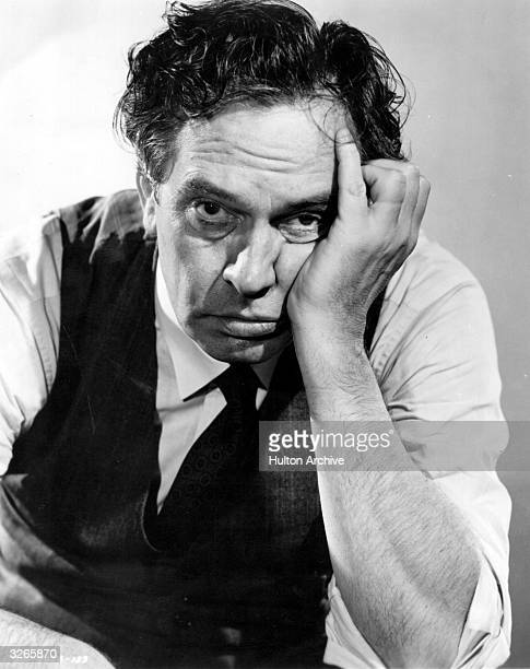 Fredric March plays wornout salesman in the Columbia picture 'Death of a Salesman' adapted from the play by Arthur Miller Title Death of a Salesman...