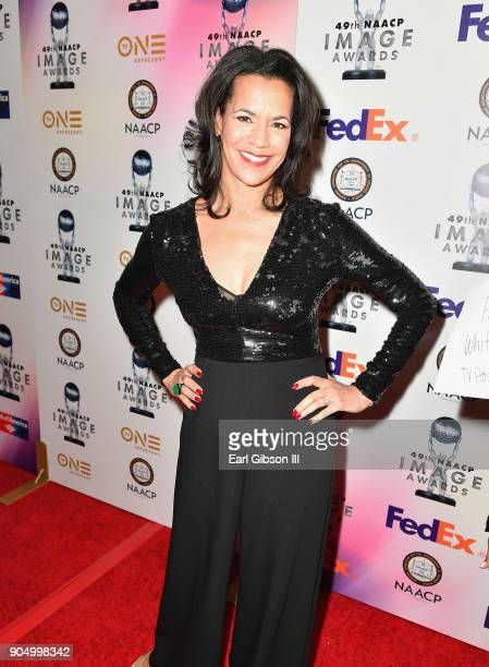 Fredricka Whitfield at the 49th NAACP Image Awards NonTelevised Awards Dinner at the Pasadena Conference Center on January 14 2018 in Pasadena...