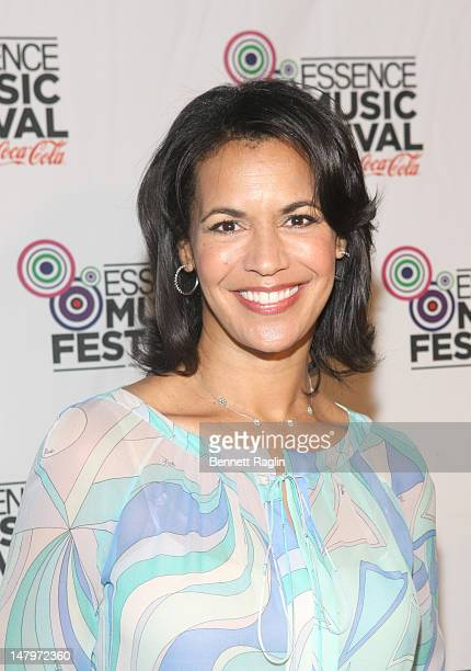 Fredricka Whitfield attend the 2012 Essence Music Festival at Louisiana Superdome on July 6 2012 in New Orleans Louisiana