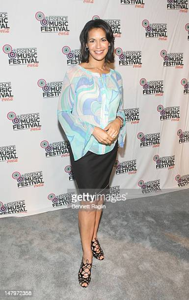 Fredricka Whitfield attends the 2012 Essence Music Festival at Louisiana Superdome on July 6 2012 in New Orleans Louisiana