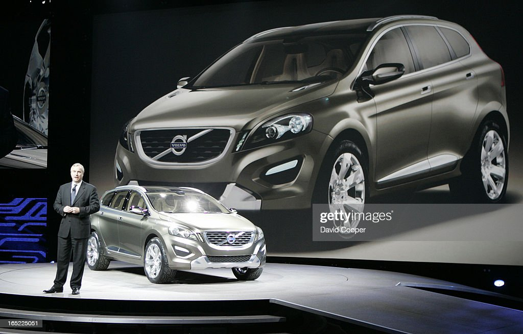 Fredrik Arp President And Ceo Volvo Car Corporation With The Volvo
