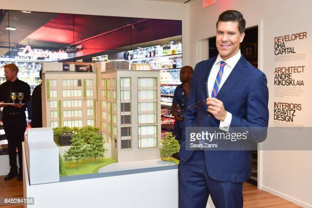 Fredrik Eklund attends Fredrik Eklund and Lenny Kravitz Celebrate Launch of DHA Capital's 75 Kenmare at 584 Broadway on February 23 2017 in New York...