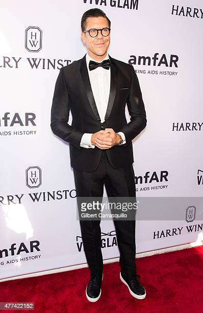 Fredrik Eklund attends the 2015 amfAR Inspiration Gala New York at Spring Studios on June 16 2015 in New York City