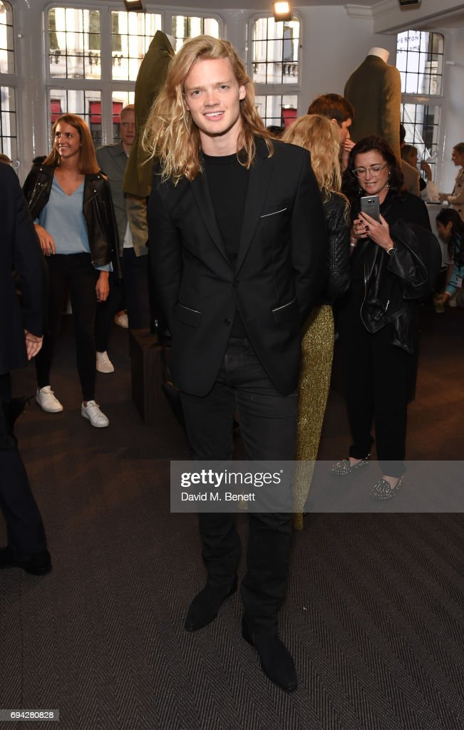 Fredrik Ferrier attends the dunhill London presentation during the London Fashion Week Men's June 2017 collections on June 9, 2017 in London, England.