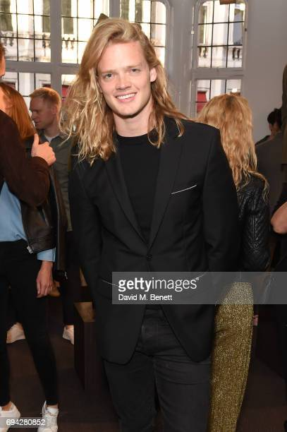 Fredrik Ferrier attends the dunhill London presentation during the London Fashion Week Men's June 2017 collections on June 9 2017 in London England
