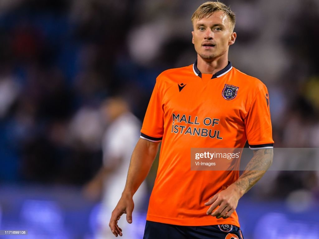 Fredrik Gulbrandsen of Istanbul Basaksehir FK during the Turkish Spor...  News Photo - Getty Images
