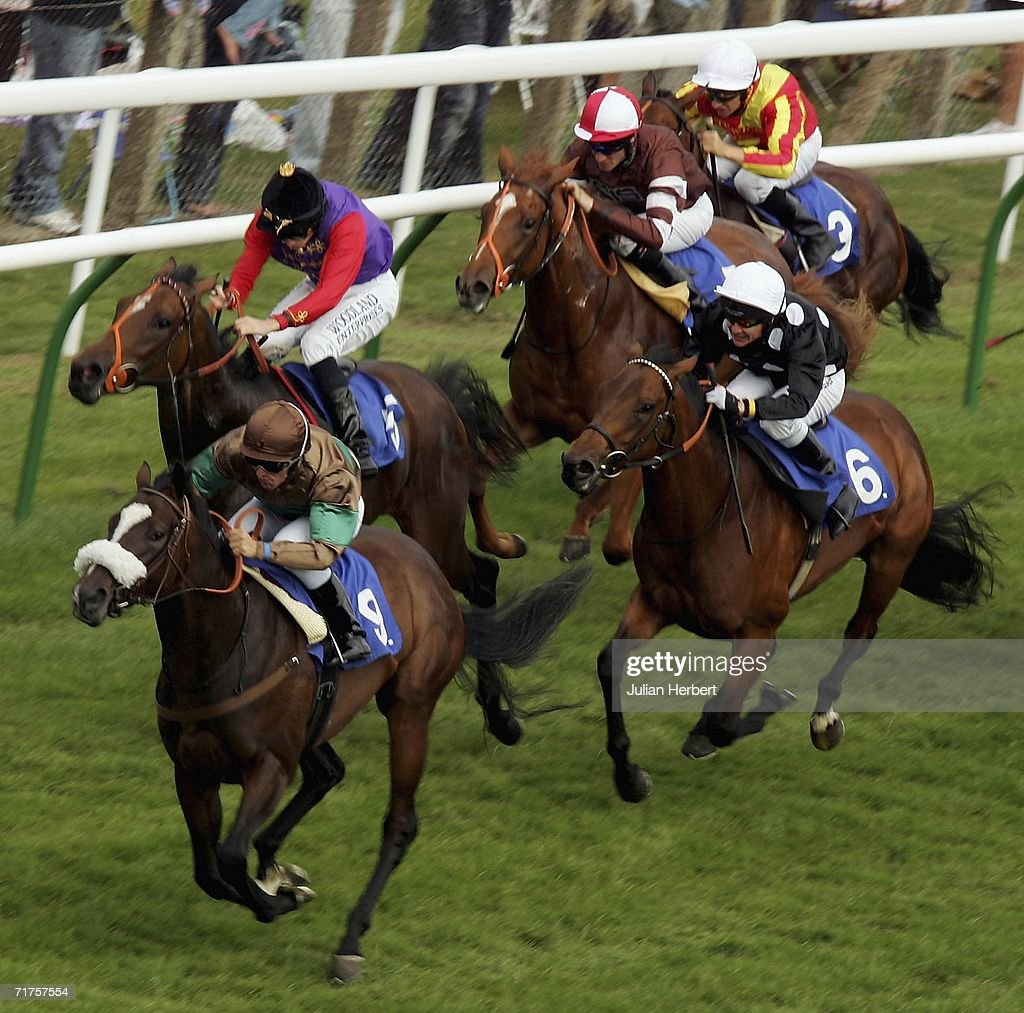 he E.B.F. Quidhampton Maiden Fillies Stakes Race : News Photo