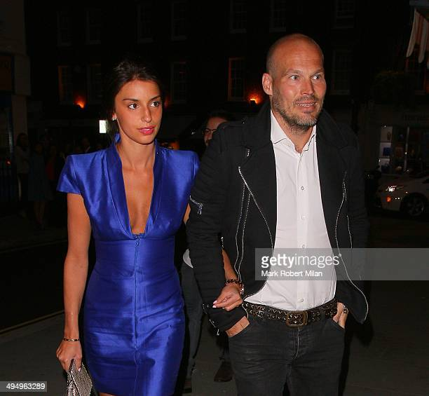 Fredrik Ljungberg at the Chiltern Firehouse on May 31 2014 in London England