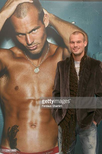 Fredrik Ljungberg during Calvin Klein ProStretch at Selfridges at Selfridges in London Great Britain