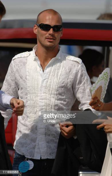 Fredrik Ljungberg during Cartier International Polo July 30 2006 at Windsor in London Great Britain