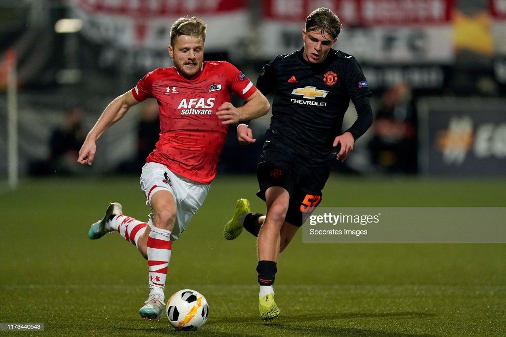 AZ Alkmaar v Manchester United - UEFA Europa League : News Photo