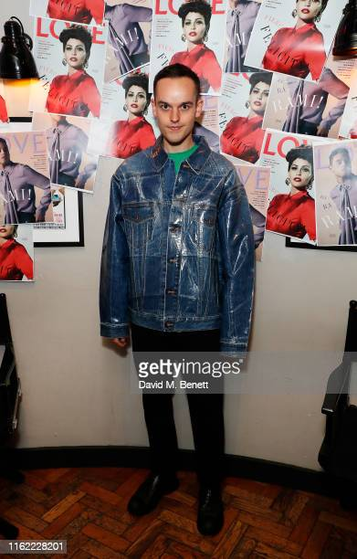 Fredrik Tjaerandsen attends the #MOVINGLOVE screening hosted by Derek Blasberg Katie Grand at Screen on the Green on July 15 2019 in London England