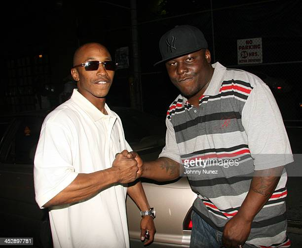 Fredro Starr and Killer Priest during Celebrity Sightings at Bunny Chow's June 13 2006 at Cane in New York City New York United States