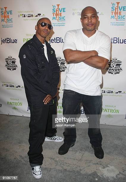 Fredro Starr and Sticky Fingaz of ONYX attend the 2009 VH1 Hip Hop Honors after party to benefit the VH1 Save The Music Foundation at One Hanson...