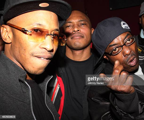 Fredro Starr Sticky Fingaz and Sonee Seeza of Onyx attend the ''Legends of Hip Hop'' concert at BB Kings on December 23 2009 in New York City