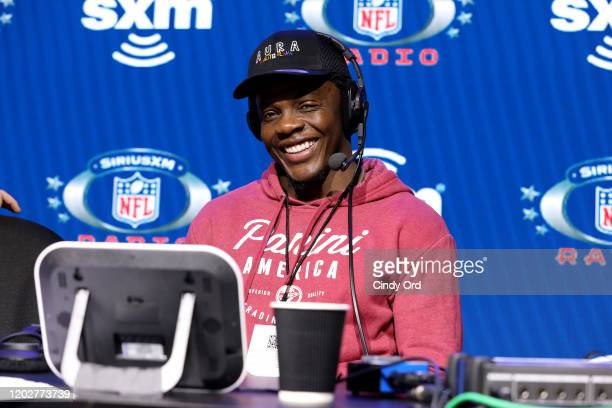 Free Agent Teddy Bridgewater speaks onstage during day one with SiriusXM at Super Bowl LIV on January 29, 2020 in Miami, Florida.