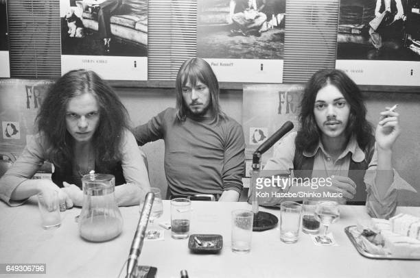 Free at press conference, April 1970.
