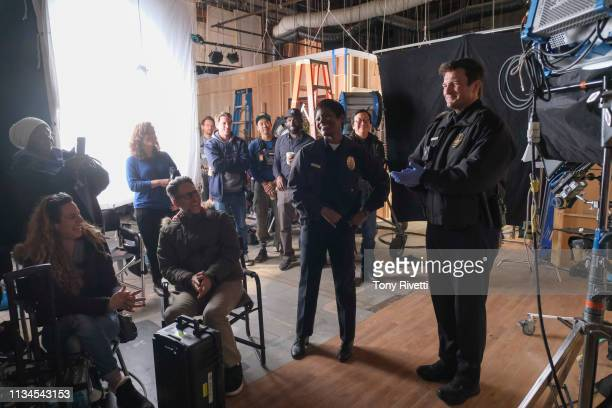 THE ROOKIE Free Fall As the rookies prepare for a big exam to see who moves on to the next stage of training Officer Nolan and Officer Bishop are...