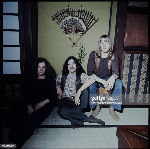 Free getting interviewed in tatami room in JP housel, Tokyo, May 1971.